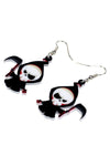 Emo Grim Reaper Earrings