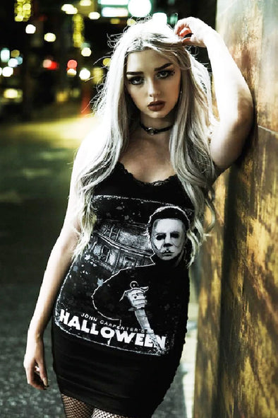 Catalyst Halloween Bodycon Strap Dress