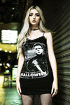 Catalyst Halloween Bodycon Strap Dress - Vampirefreaks Store