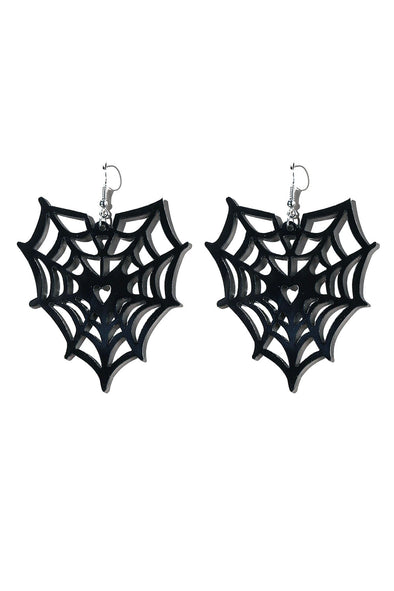 We Met on the Web Earrings