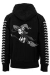 VampireFreaks Crazy Witch Zipper Hoodie w/ Bat Sleeves - Vampirefreaks Store