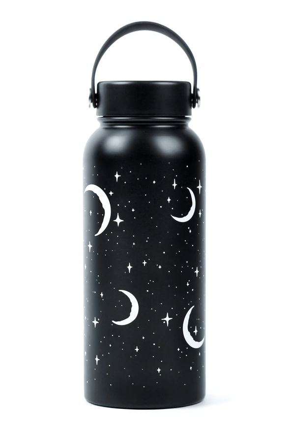 pagan witch water bottle