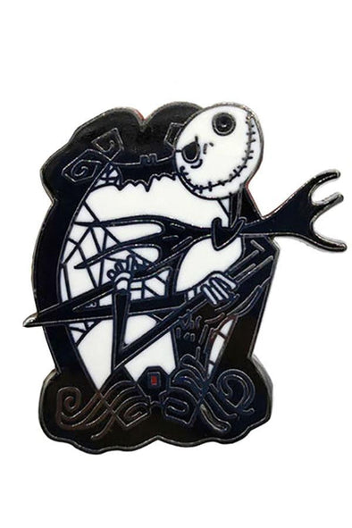 Jack Skellington Nightmare Before Christmas Pin - Vampirefreaks Store
