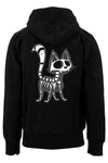 Skelekitty Hoodie (Zipper or Pullover)