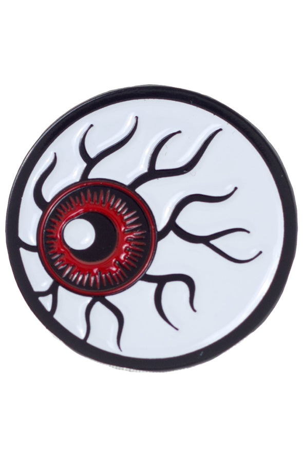 Sourpuss Kustom Kreeps Eyeball Enamel Pin - Vampirefreaks Store