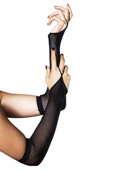 Leg Avenue Fishnet Arm warmers - Vampirefreaks Store
