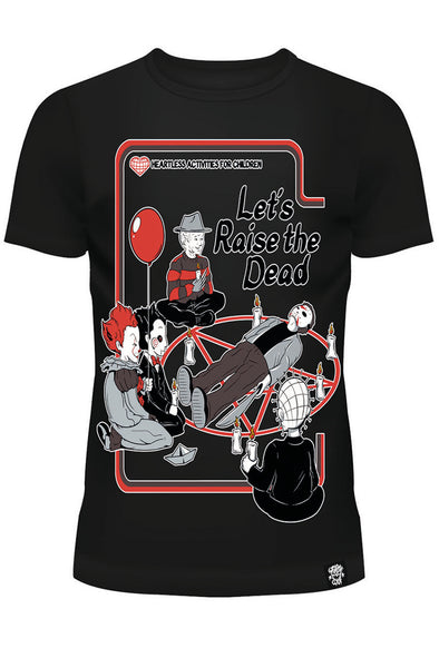 Let's Raise the Dead Ladies T-shirt - Vampirefreaks Store