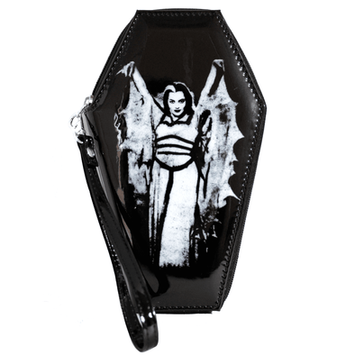 "Rock Rebel ""Lily Bat"" Coffin Wallet"