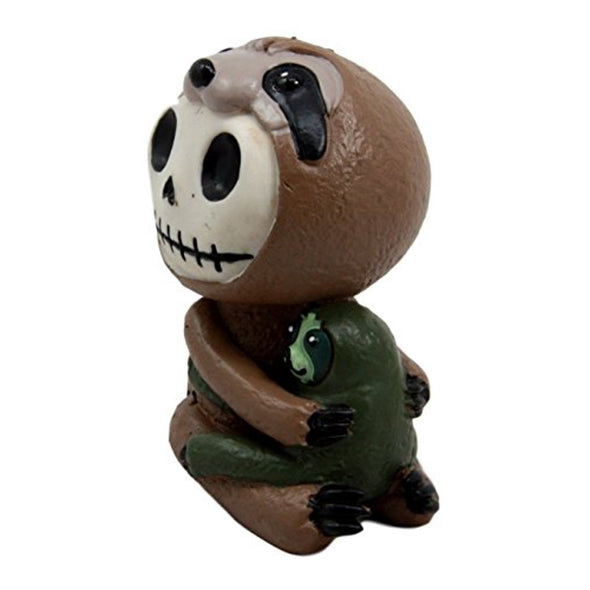 novelty funny humor sloth toy statue