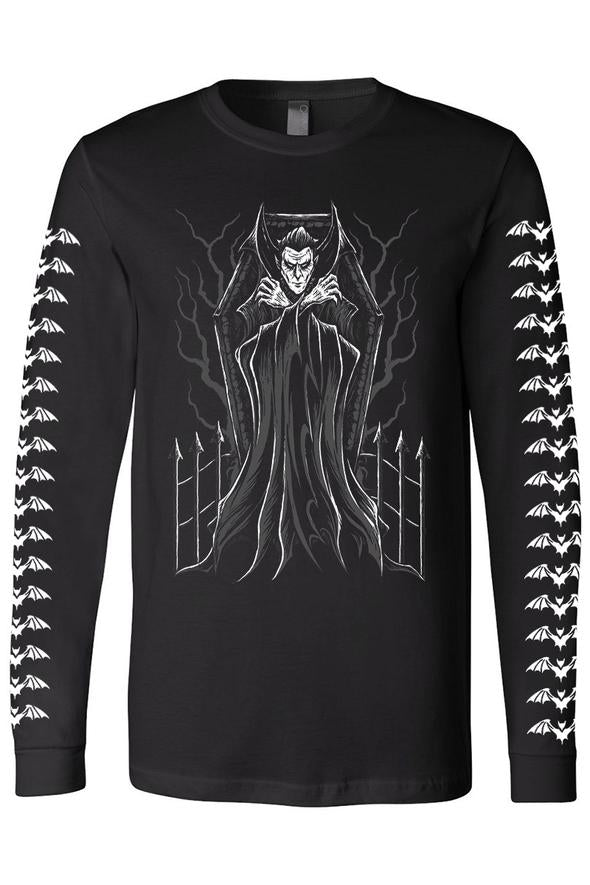 Count Dracula's Coffin Tee (Multiple Styles Available)