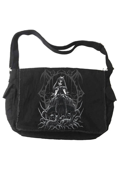 VampireFreaks Dark Alice Messenger Bag - Vampirefreaks Store