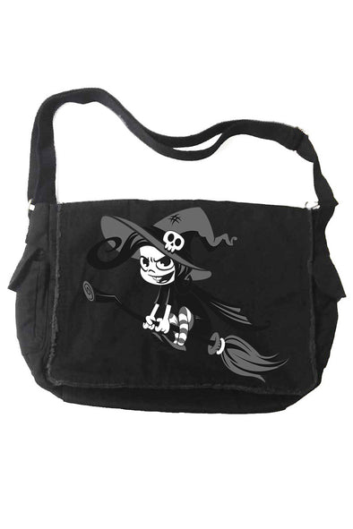 VampireFreaks Crazy Witch Messenger Bag - Vampirefreaks Store