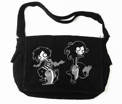 VampireFreaks Graveyard Kids Messenger Bag