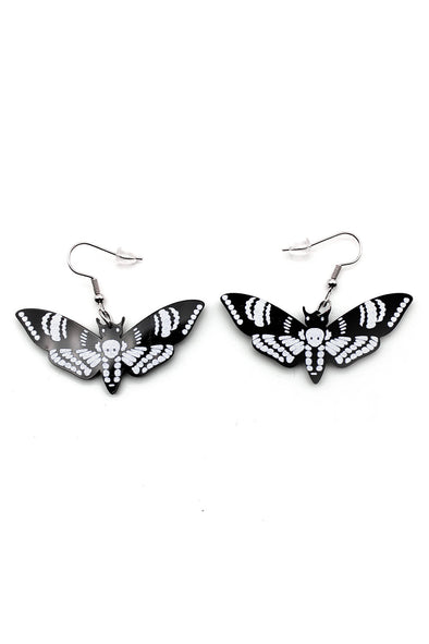 Dead Moth Earrings