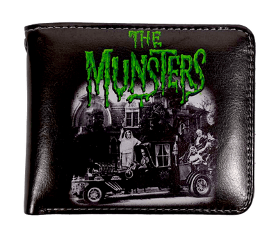 "Rock Rebel ""The Munsters Family"" Bi Fold Wallet"