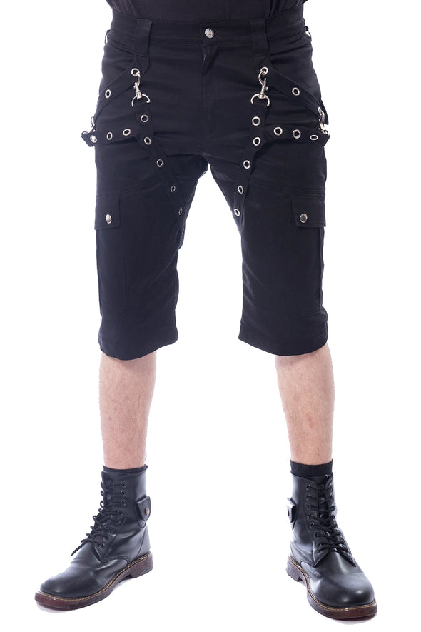 Poizen Industries Munich Shorts - Vampirefreaks Store