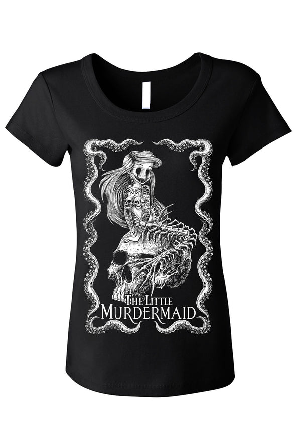 The Little Murdermaid Tee [Multiple Styles Available]