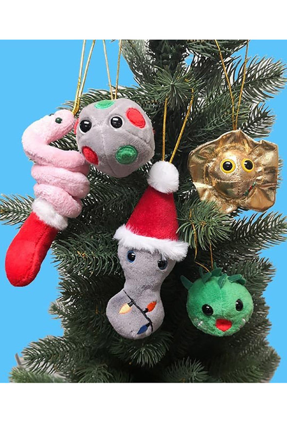 Naughty STD Christmas Ornaments