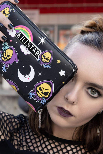 Killstar Skeletor Not Cute Wallet - Vampirefreaks Store