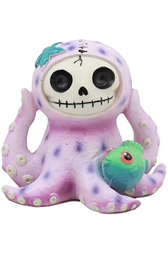 Purple Octopee the Octopus Statue