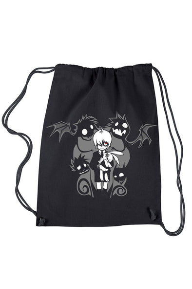 VampireFreaks Possessed Drawstring Backpack - Vampirefreaks Store