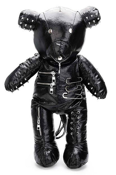 Bondage Bear Backpack (Black) - Vampirefreaks Store