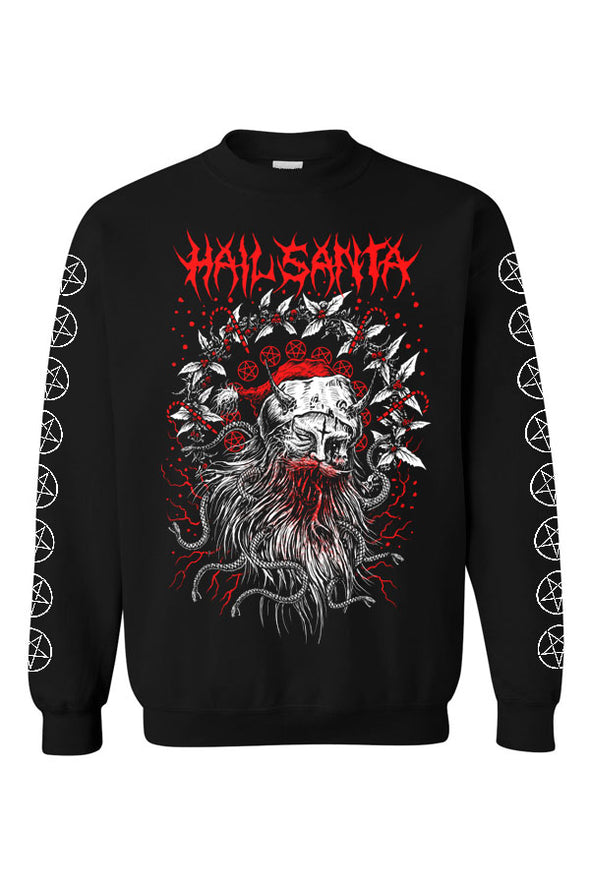 Hail Santa Christmas Sweatshirt