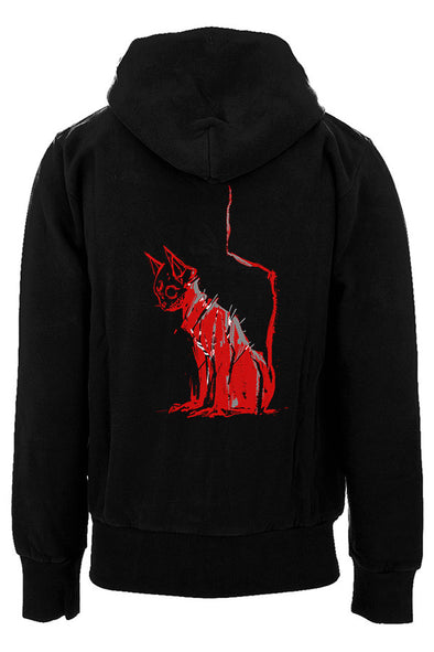 Dead Kitty Hoodie (Zipper or Pullover)