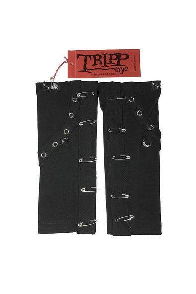 Tripp Safety Pin Armwarmers