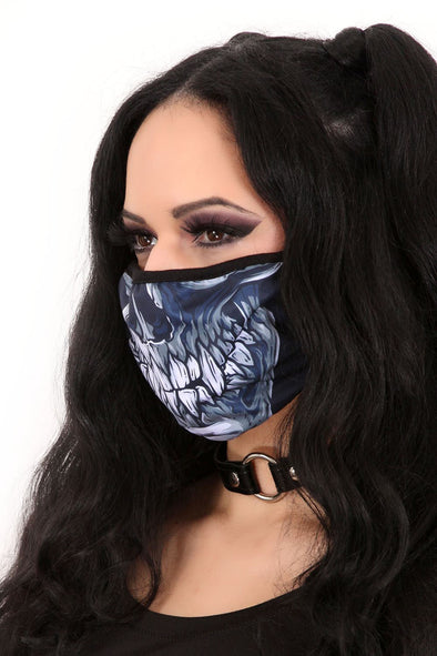 Fang Skull Face Mask