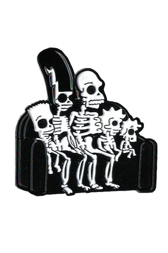 Simpsons Skeleton Family Pin - Vampirefreaks Store