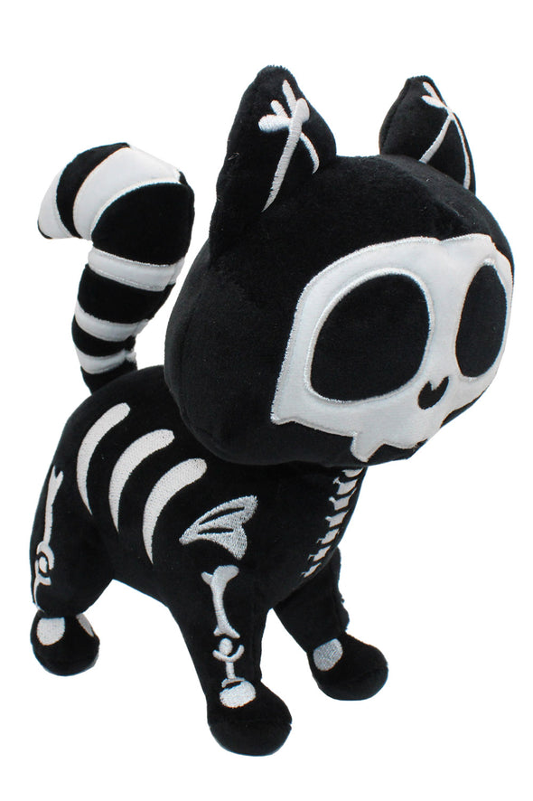 emo kawaii cat skeleton plush skelekitty