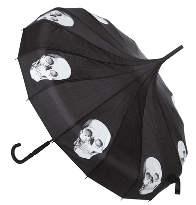 SOURPUSS SKULLS PAGODA UMBRELLA