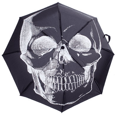 SOURPUSS SKULL UMBRELLA