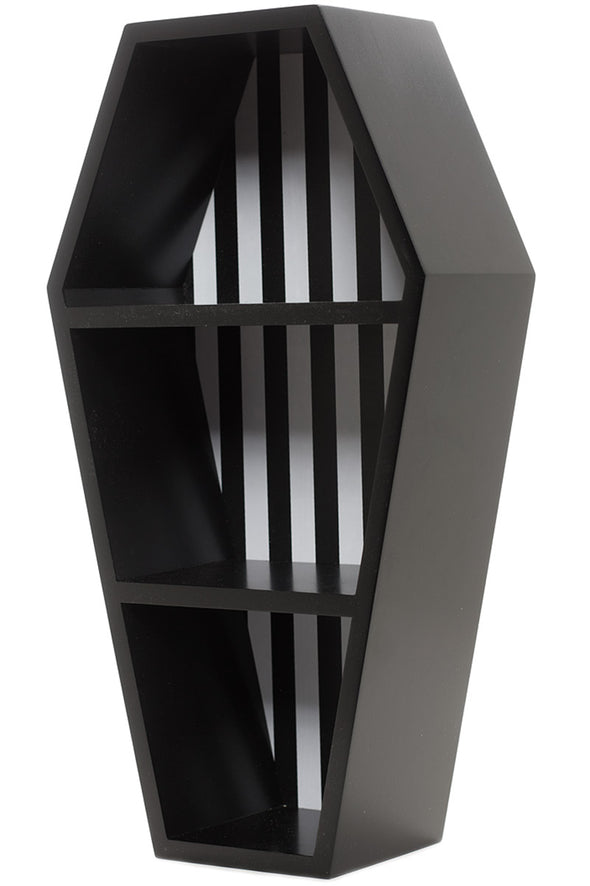 Striped Coffin Shelf