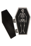Sourpuss Drop Dead Opening Coffin Pin - Vampirefreaks Store