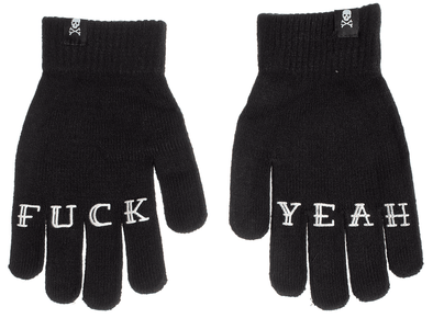 Sourpuss FUCK YEAH Gloves - Vampirefreaks Store