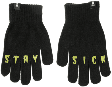 Sourpuss Stay Sick Gloves