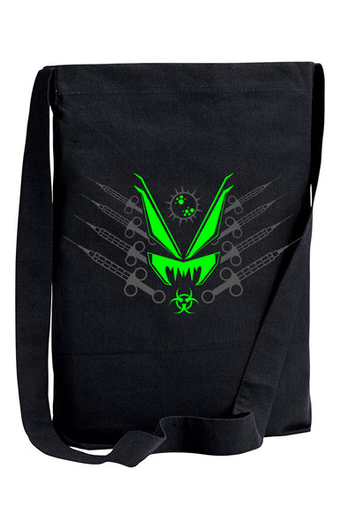 VampireFreaks Toxic Dosage Sling Shoulder Tote Bag - Vampirefreaks Store