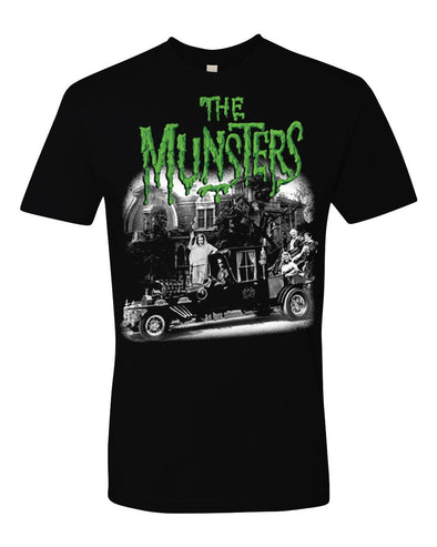 "Rock Rebel ""The Munsters"" Family Coach Men's Tee"