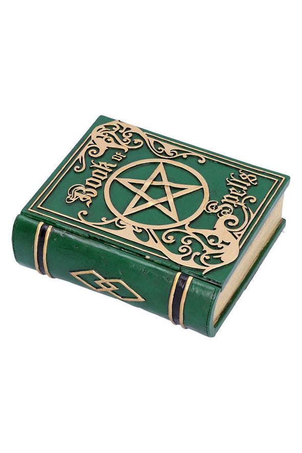 Book of Spells Secret Stash Box [Green]