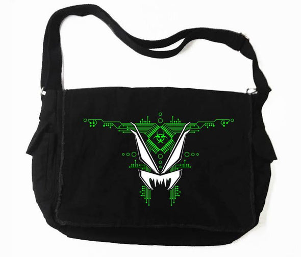 VampireFreaks Motherboard Messenger Bag (Green) - Vampirefreaks Store