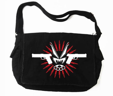 VampireFreaks Murder and Hate Messenger Bag - Vampirefreaks Store