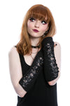 victorian gothic gloves arm warmers