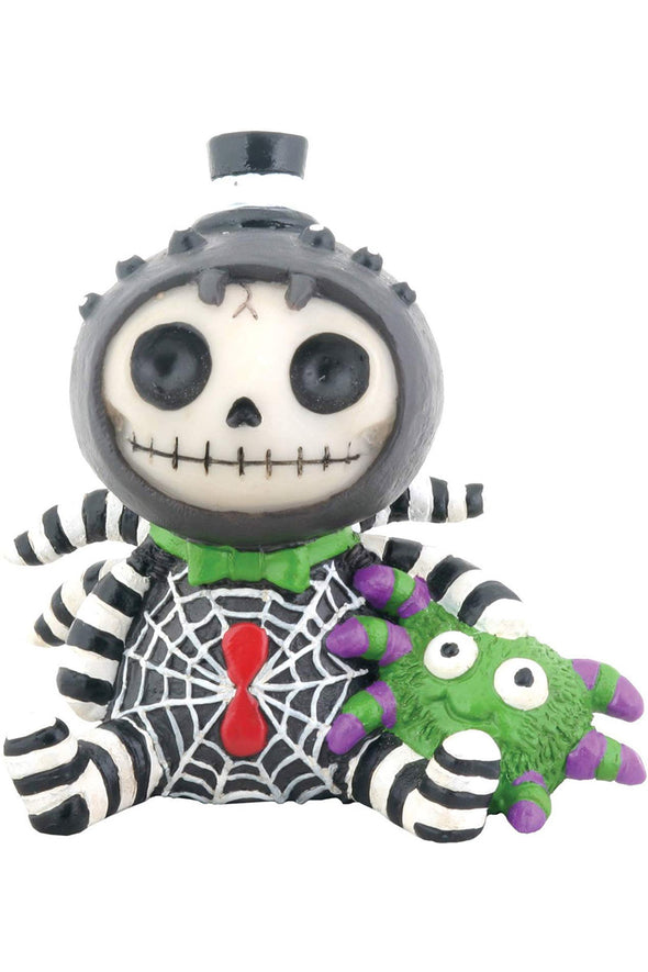 emo spider toy figurine collectible statue