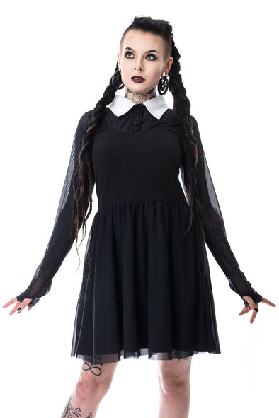Heartless Wednesday Lace Dress - Vampirefreaks Store