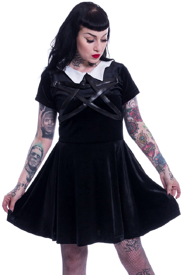 Heartless Wednesday Night Witch Dress - Vampirefreaks Store