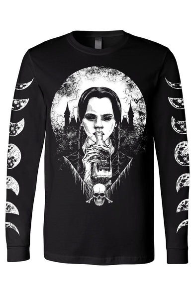 Wednesday Addams Poison Tee [Multiple Styles Available]