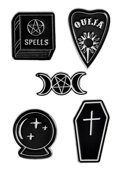 Witch Magick 5-Pin Pack - Vampirefreaks Store