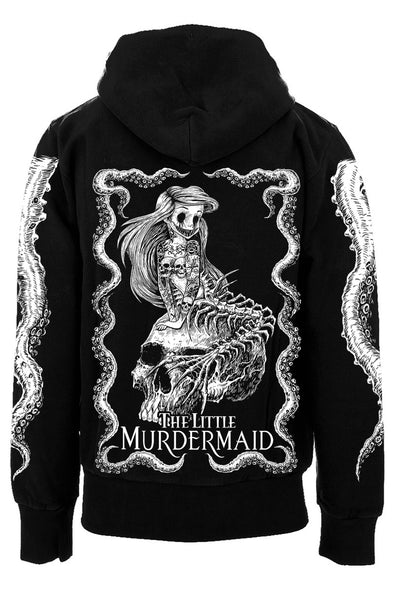 The Little Murdermaid Hoodie [Zipper or Pullover]